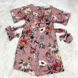 NWT Closet London Floral Kimono Wiggle Dress